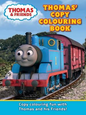 Thomas Copy Colouring Book (Paperback)