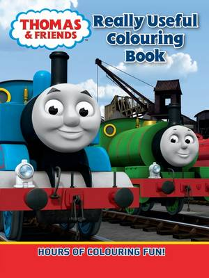 Thomas Really Useful Colouring Book (Paperback)