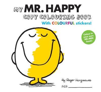 Mr Men Colour your own Mr Happy (Paperback)