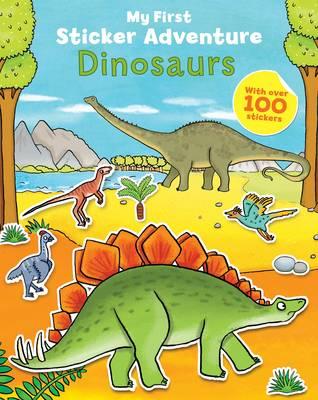 My First Sticker Adventure: Dinosaurs (Paperback)
