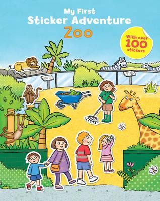 My First Sticker Adventure: Zoo (Paperback)