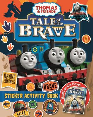 Thomas Tale of the Brave Sticker Book (Paperback)