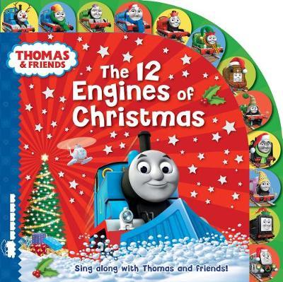 Thomas & Friends: The 12 Engines of Christmas (Hardback)