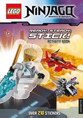Lego (R) Ninjago Masters of Spinjitzu: Ready Steady Stick! (Sticker Activity Book) - Lego (R) Ninjago (Paperback)