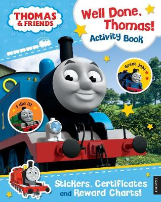 Thomas & Friends: Well Done, Thomas! Activity Book (Paperback)
