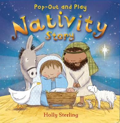 Pop-Out and Play Nativity Story (Board book)