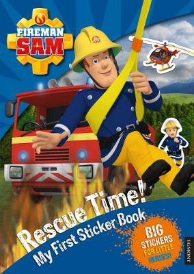 Fireman Sam: Rescue Time! My First Sticker Book (Paperback)