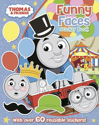Thomas The Tank Engine Funny Faces Sticker Book: ` (Paperback)
