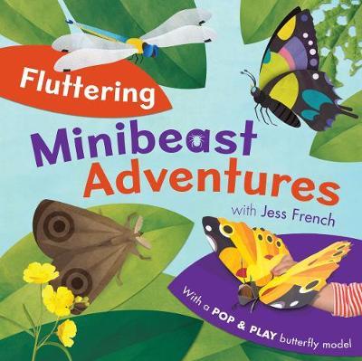 Fluttering Minibeast Adventures - Minibeast Adventures (Hardback)