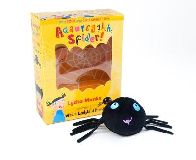 Aaaarrgghh Spider! Book and Toy (Paperback)