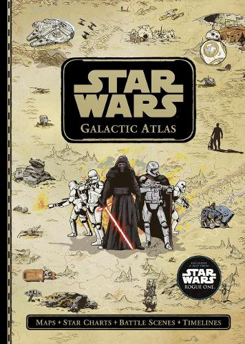 Star Wars: Galactic Atlas (Hardback)