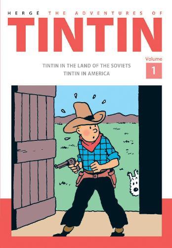 The Adventures of Tintin Volume 1 (Hardback)