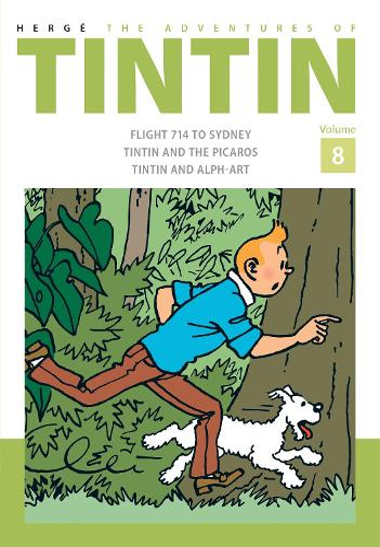 The Adventures of Tintin Volume 8 (Hardback)