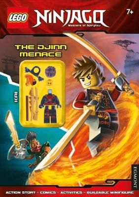 LEGO (R) Ninjago: The Djinn Menace (Activity Book with Minifigure) - Lego (R) Ninjago (Paperback)