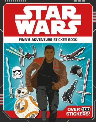 Star Wars Finn's Adventure Sticker Book (Paperback)