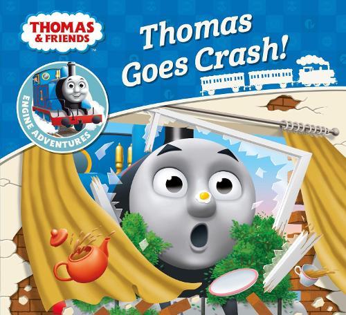 Thomas & Friends: Thomas Goes Crash - Thomas Engine Adventures (Paperback)