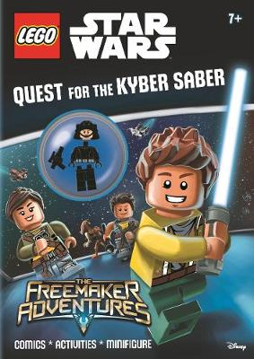 Lego (R) Star Wars: Quest for the Kyber Saber (Activity Book with Minifigure) - Lego (R) Star Wars (Paperback)