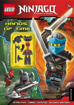LEGO (R) Ninjago: Hands of Time (Activity Book with Minifigure) - Lego (R) Ninjago (Paperback)