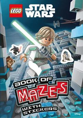 LEGO (R) Star Wars: Book of Mazes (Mazes Sticker Book) - Lego (R) Star Wars (Paperback)