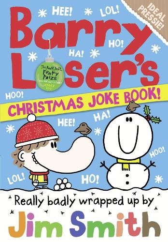 Barry Loser's Christmas Joke Book - The Barry Loser Series (Paperback)