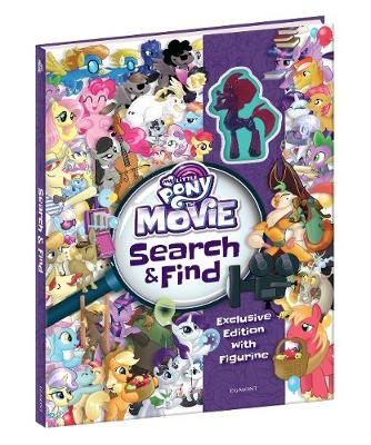 My Little Pony Movie: Search and Find with Toy (Hardback)