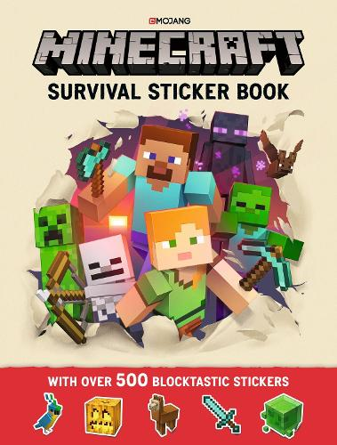 Minecraft survival sticker book by mojang ab waterstones minecraft survival sticker book an official minecraft book from mojang paperback solutioingenieria Images