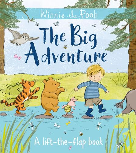 Winnie-the-Pooh: The Big Adventure: A lift-the-flap book (Paperback)
