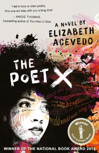 Cover of the book, The Poet X.