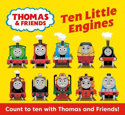 Thomas & Friends: Ten Little Engines (Board book)