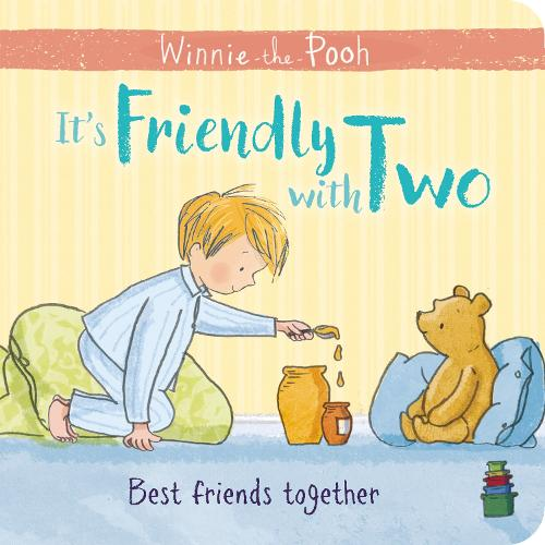 Winnie-the-Pooh: It's Friendly with Two: First Board Book (Board book)