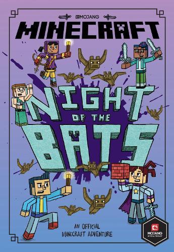 Minecraft: Night of the Bats (Minecraft Woodsword Chronicles #2) (Paperback)