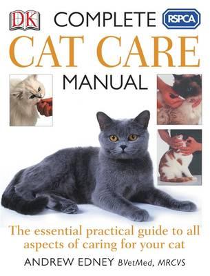 RSPCA Complete Cat Care Manual (Paperback)
