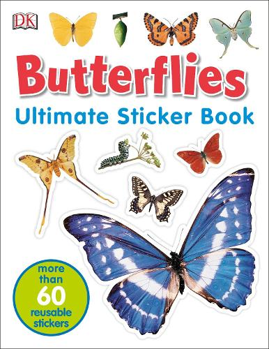 Butterflies Ultimate Sticker Book (Paperback)