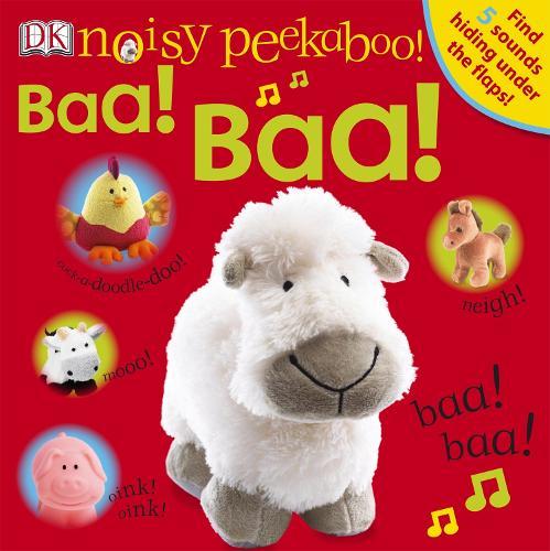 Noisy Peekaboo! Baa! Baa! - Noisy Peekaboo! (Board book)