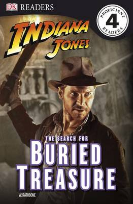 Indiana Jones the Search for Buried Treasure - DK Readers Level 4 (Paperback)