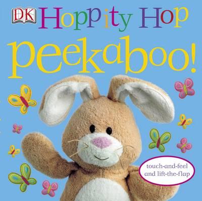 Hoppity Hop Peekaboo! - Peekaboo! (Board book)
