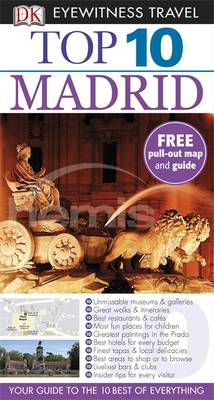 DK Eyewitness Top 10 Travel Guide: Madrid - DK Eyewitness Top 10 Travel Guide (Paperback)