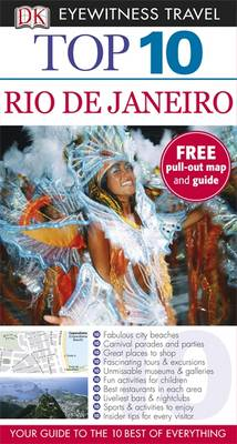 DK Eyewitness Top 10 Travel Guide: Rio de Janeiro - DK Eyewitness Top 10 Travel Guide (Paperback)