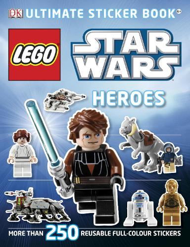 LEGO (R) Star Wars Heroes Ultimate Sticker Book - Ultimate Stickers (Paperback)