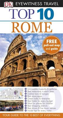DK Eyewitness Top 10 Travel Guide: Rome - DK Eyewitness Top 10 Travel Guide (Paperback)