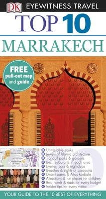 DK Eyewitness Top 10 Travel Guide: Marrakech - DK Eyewitness Top 10 Travel Guide (Paperback)