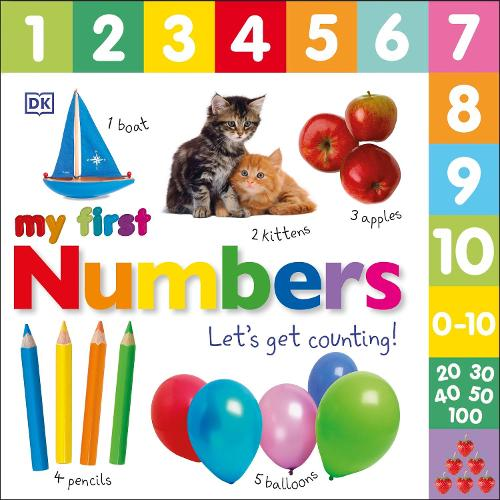My First Numbers Let's Get Counting - My First (Board book)