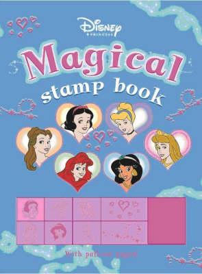 Disney Magical Stamp Book (Paperback)