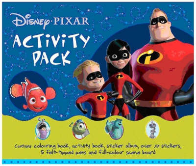 Disney Pixar Activity Pack - Disney Activity S. (Paperback)