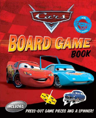 "Disney ""Cars"" Board Game Book (Paperback)"