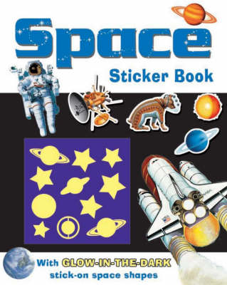 Space - Glow in the Dark Reference Sticker Books (Paperback)