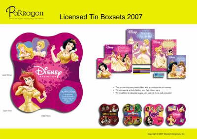 Disney Princess Tin: Read Play Imagine Create (Paperback)