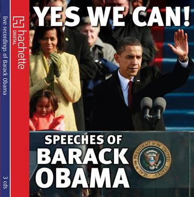 Yes We Can! Speeches of Barack Obama (CD-Audio)