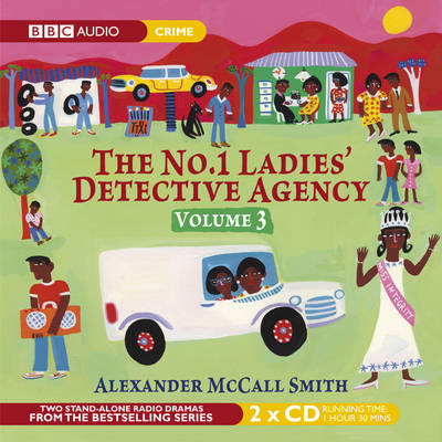 The No.1 Ladies' Detective Agency: Chief Justice and Confession v. 3 (CD-Audio)