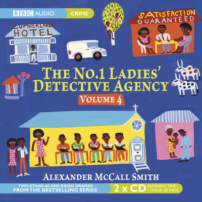 The No.1 Ladies' Detective Agency: Kalahari Typing and Admirer v. 4 (CD-Audio)